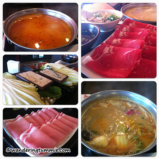 ichi ichi Fusion Shabu & Tempura Rowland Heights CA, shabu shabu, hot pot, raw meat, cook your own meat, beef, pork, japanese food, japanese restaurant, seafood, soup, meat soup